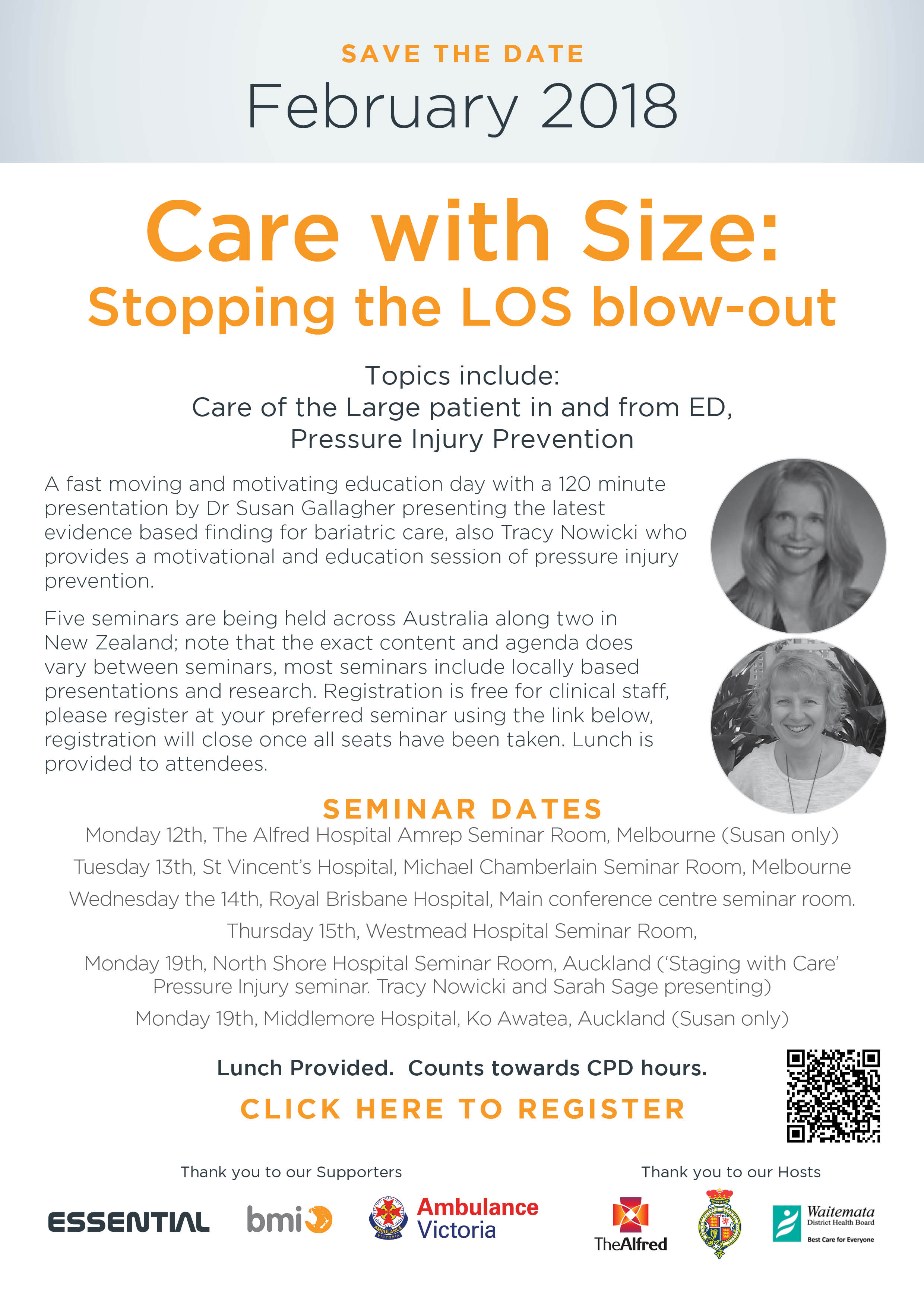 Care with Size: Stopping the LOS blow-out